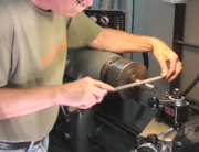 Fining on the Lathe